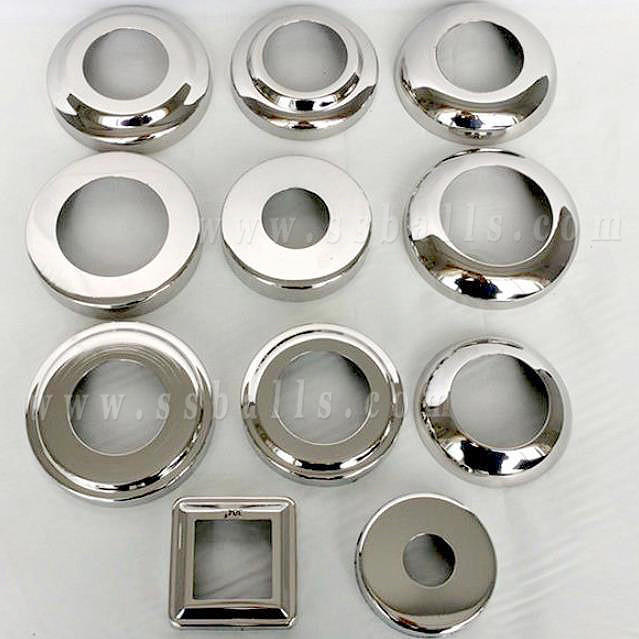 Stainless Steel Decorative Cover, Metal Pipe Accessories