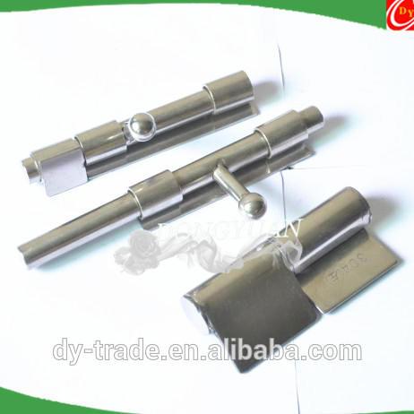 stainless steel sliding door bolt lock
