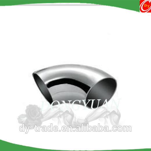 stainless steel deocrative pipe elbow for stair accessories