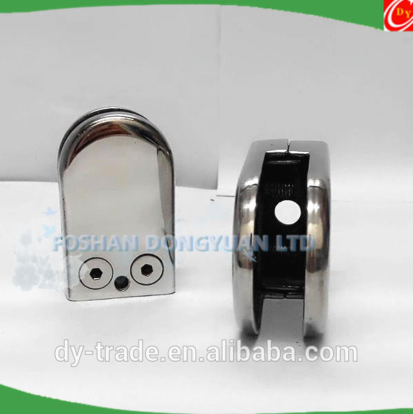 201,304 stainless steel glass panel clamp,steel glass railing clamp clip