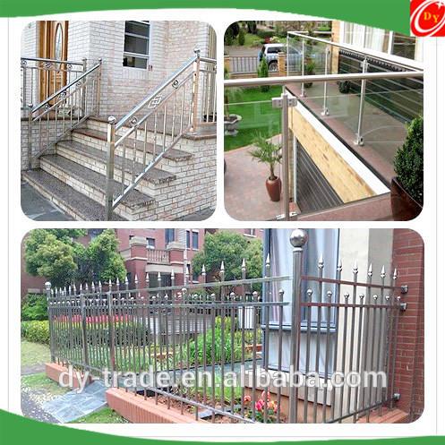 Stainless Steel Stair Fittings , Stainless Steel 304 Outdoor Stair Rail Fittings