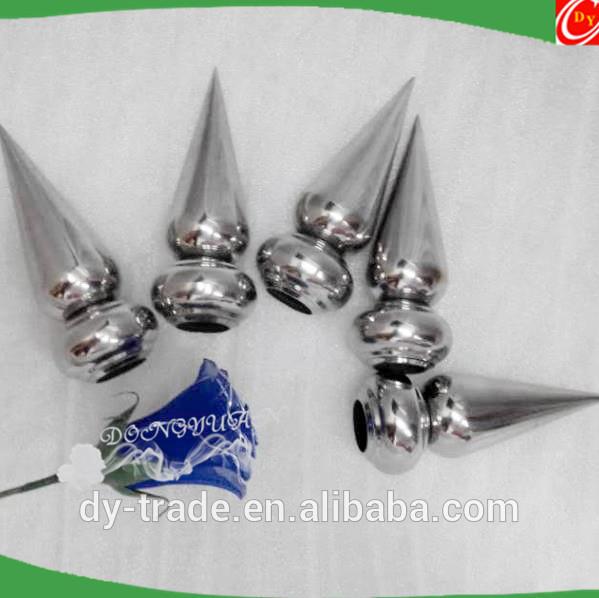 Inox steel decorative spear , Stainless steel fence spear suppliers