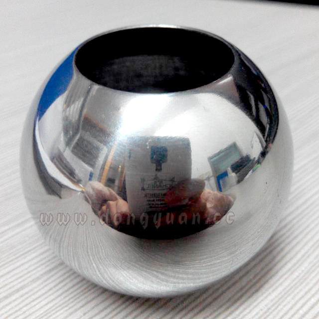 38mm Stainless Steel Sphere with Hole for Tube Fitting