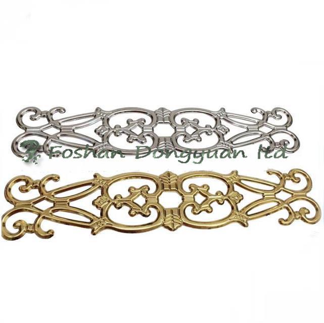 Decorative Polishing Stainless Steel GateFlowers Fittings