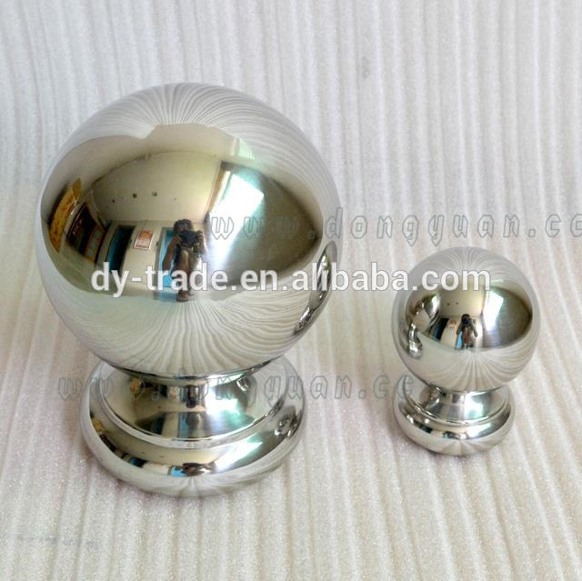 Stainless Steel Tube Handrail Ball with Thread for Stair Parts