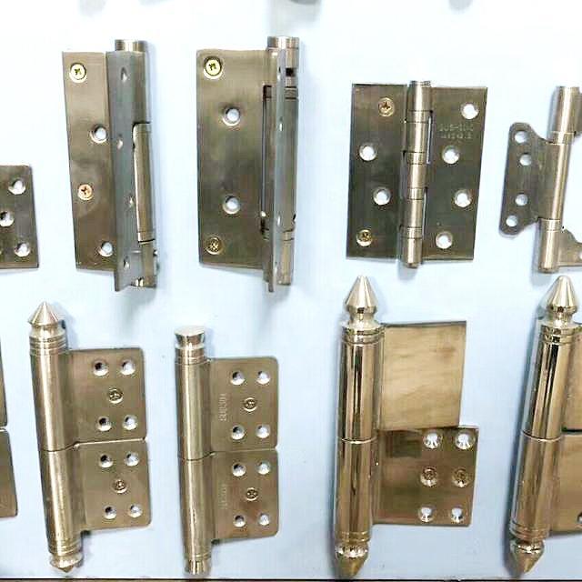 SS 201 Inox Steel Window and Door Hinges with Copper Plate Color