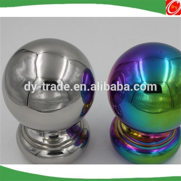 stainless steel 304/316 handrail decorative balls handrail ball fitting balustrades handrails balustrade ball post cap