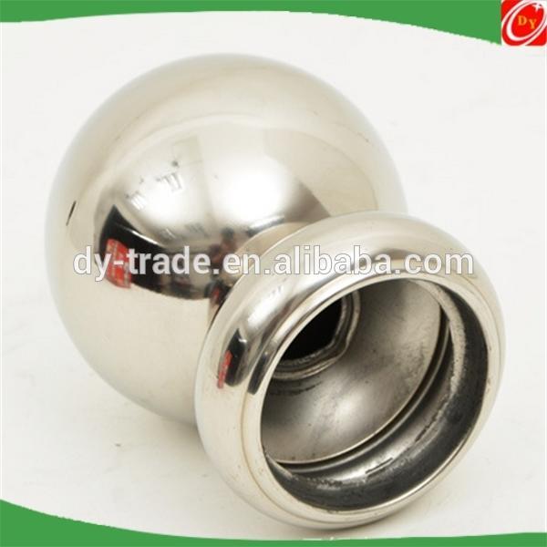 stainless steel hollow ball for handrail baluster railing/garden landscape decoration
