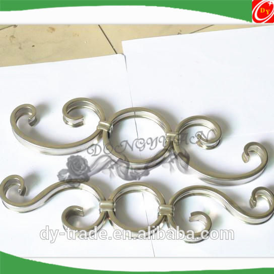 Stainless steel design accessories for gate decoration