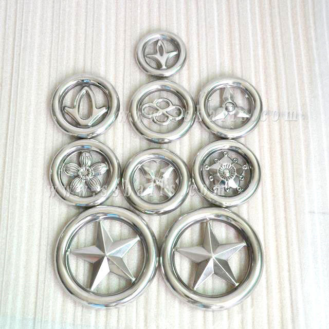 Stainless Steel Rosettes ( Flower) for Gate Window Decorative Accessories