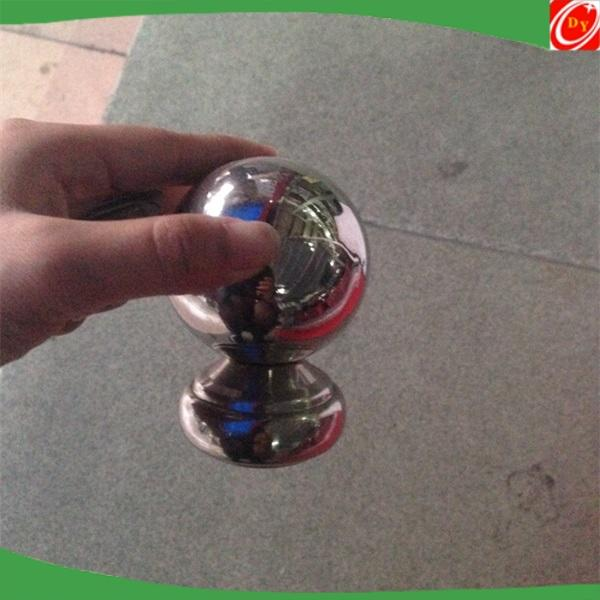 stainless steel handrail post top ball/balustrade ball post cap
