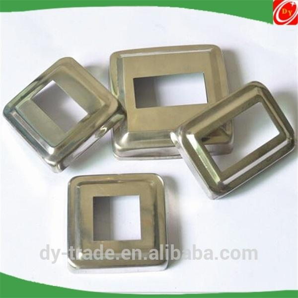 Square Accessories Stainless Steel Metal Decoration Cover