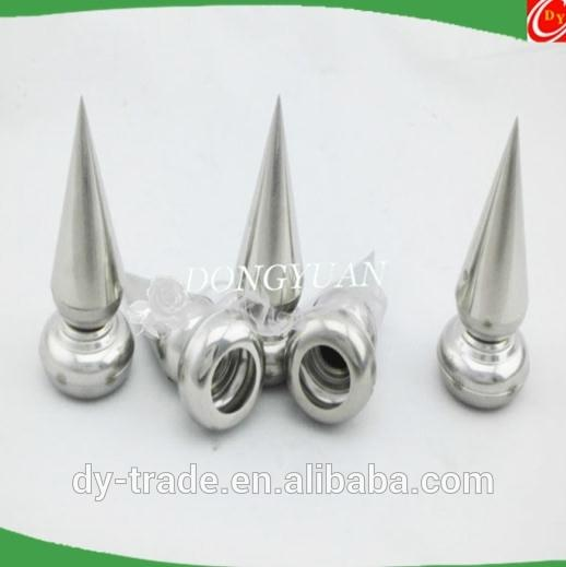 stainless steel spearhead accessories for decorative fence inserts