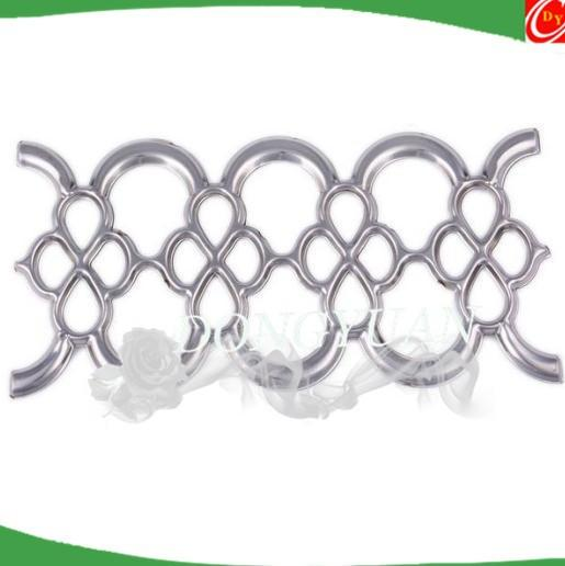 SS 304 polished stainless steel rosettes for gate accessories