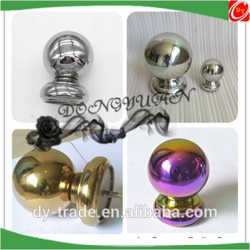stainless steel handrail ball for stair part, stainless steel ball decorative accessories