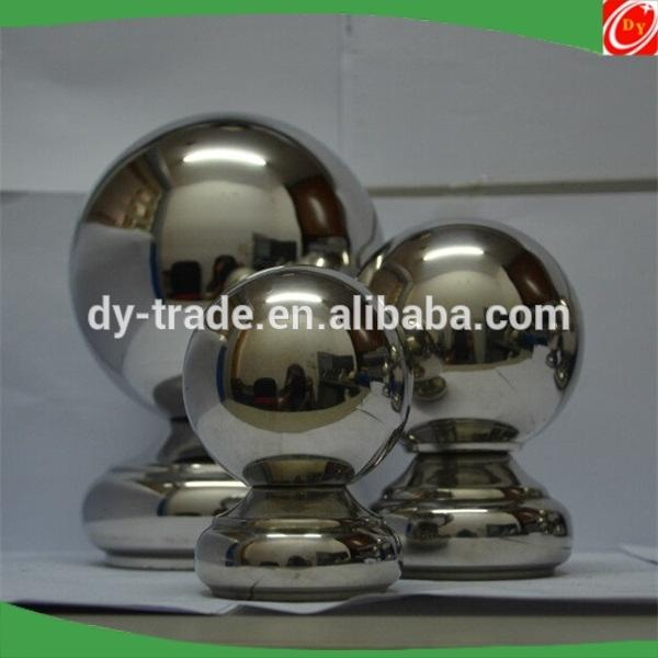 stainless steel enp cap ball decorative ball for handrail railing stairs