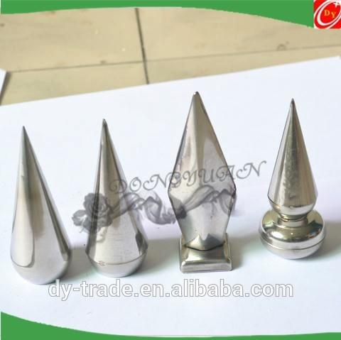 Railing or handrail head stainless steel accessories spear
