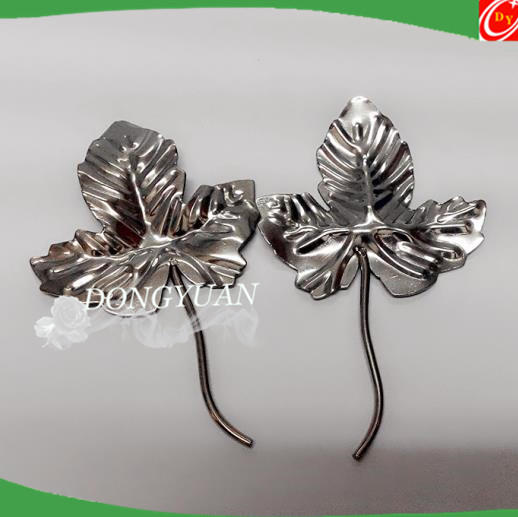 Door decorative flowers leave for gate accessory