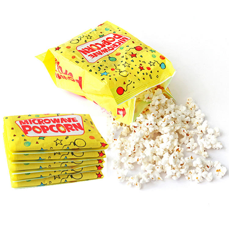 Customized Greaseproof Microwave Popcorn Bag