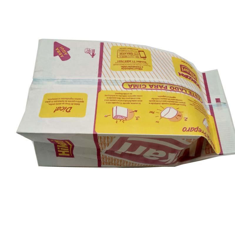 Custom printed microwave popcorn paper bag