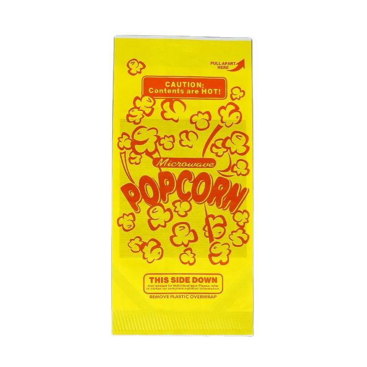 Kolysen custom printed food grade microwave pop corn kernel paper bag