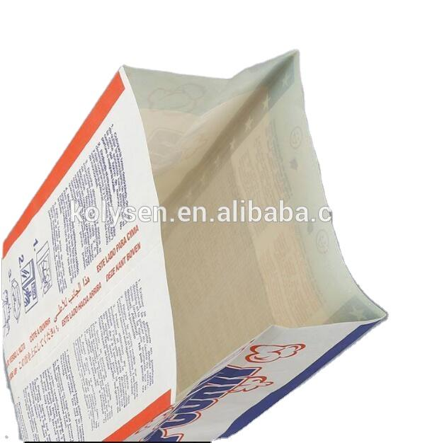 KOLYSENmicrowave use popcorn bag for popcorn packaging hight quality