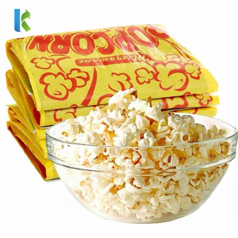 Bolso Microondas Sealable Para Corn Bulk Logo Kraft Factory Sealable Craft Custom Print Popcorn Bags