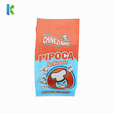 Corn Custom Wholesale Bolso Microondas Para Logo Craft Kraft FactorySealable Greaseproof Microwave Popcorn Bag