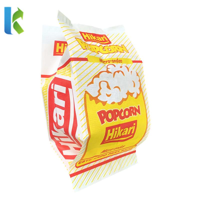Custom Printed LOGO Oil ResistantMicrowave Popcorn Bag