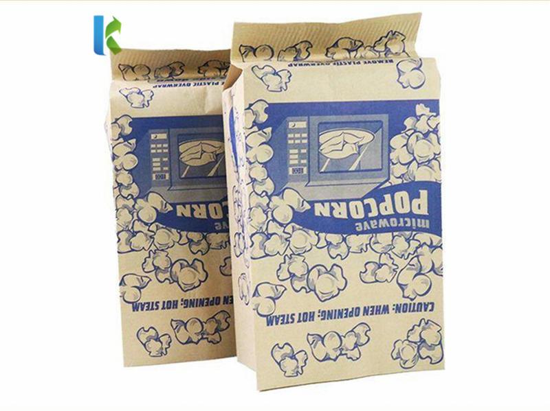 Wholesale Microwaveable Sealable Para Bulk Factory Large NewLogo Corn Bolso Paper Popcorn Bag