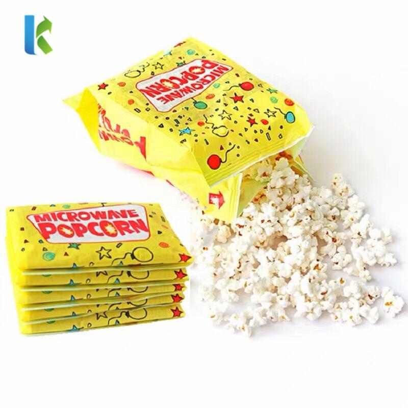 Bolso Sealable Wholesale Microondas LargeFactory Microwaveable Paper Popcorn Bag Corn Bulk New Para