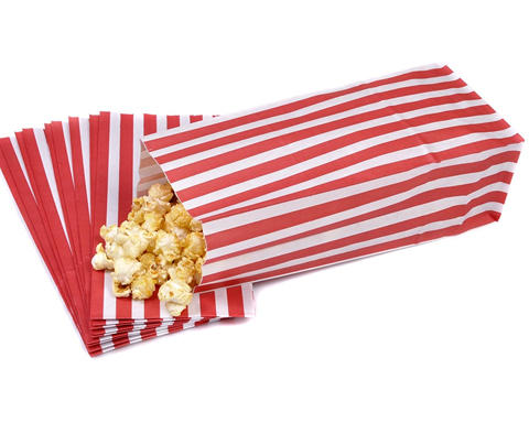 Grease proof paper bags for popcorn packaging