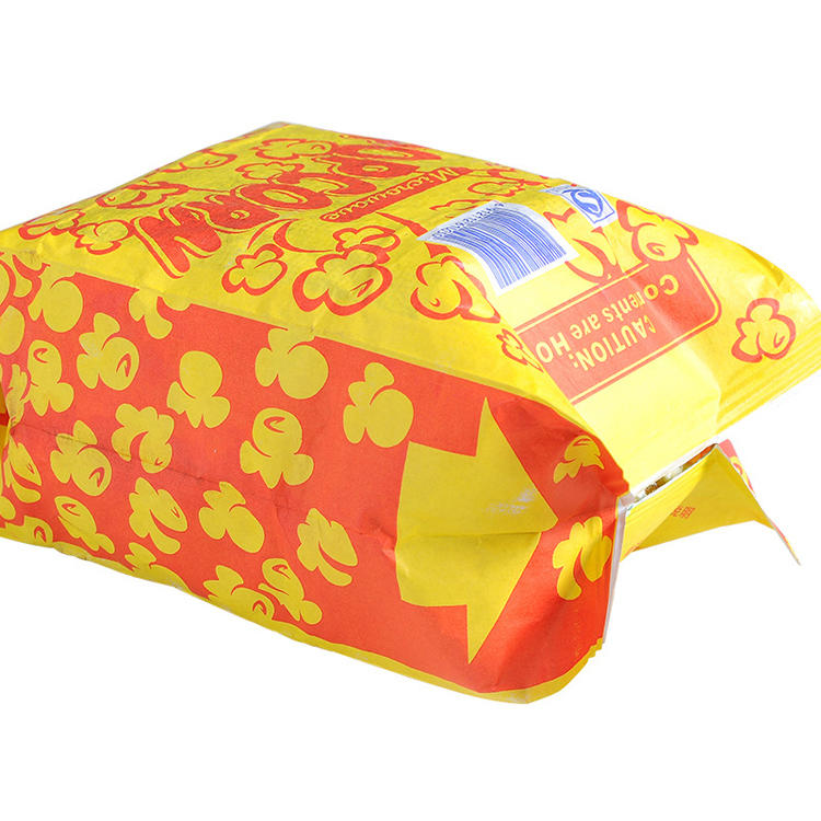 Direct Factory Price Excellent Oil Proof Microwavable Popcorn Pack Bag with Custom Printing