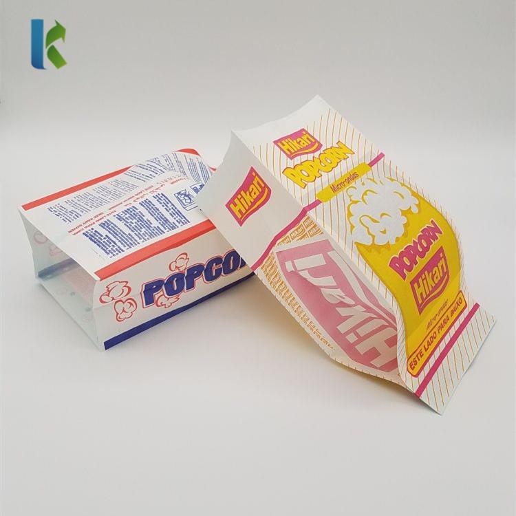Para Sealable Wholesale Bulk Factory Microwaveable Large NewLogo Corn Bolso Paper Popcorn Bag