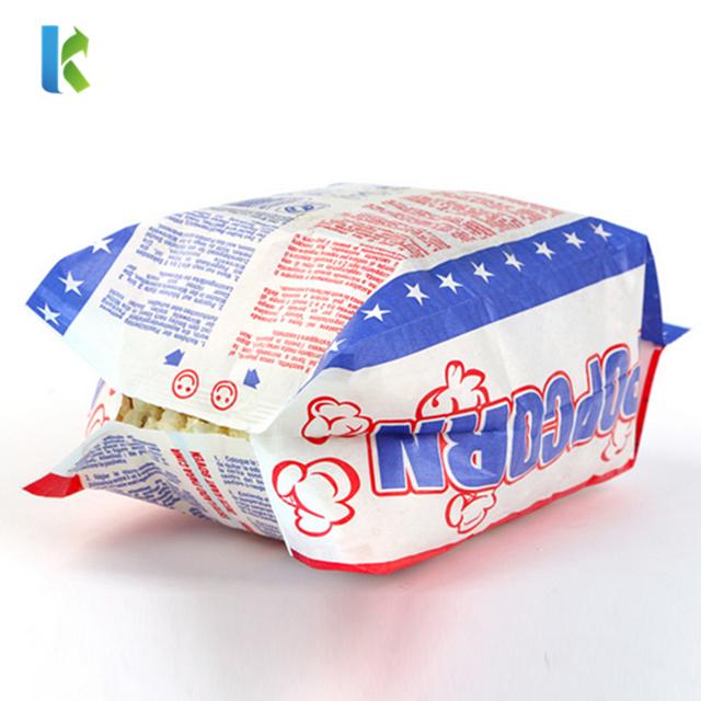 OEM Service Food Grade Microwave Popcorn Paper Bag Manufacturer in China