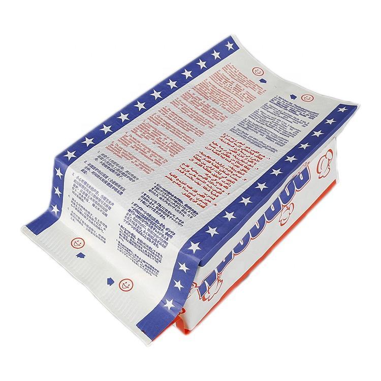 Custom Microwave Popcorn Paper Bag in china