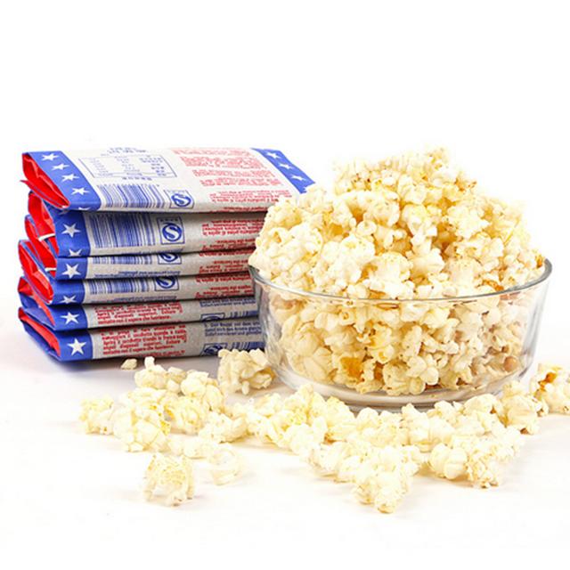 Custom Printed Food Grade Microwave Popcorn Paper Bag Manufacturer in China