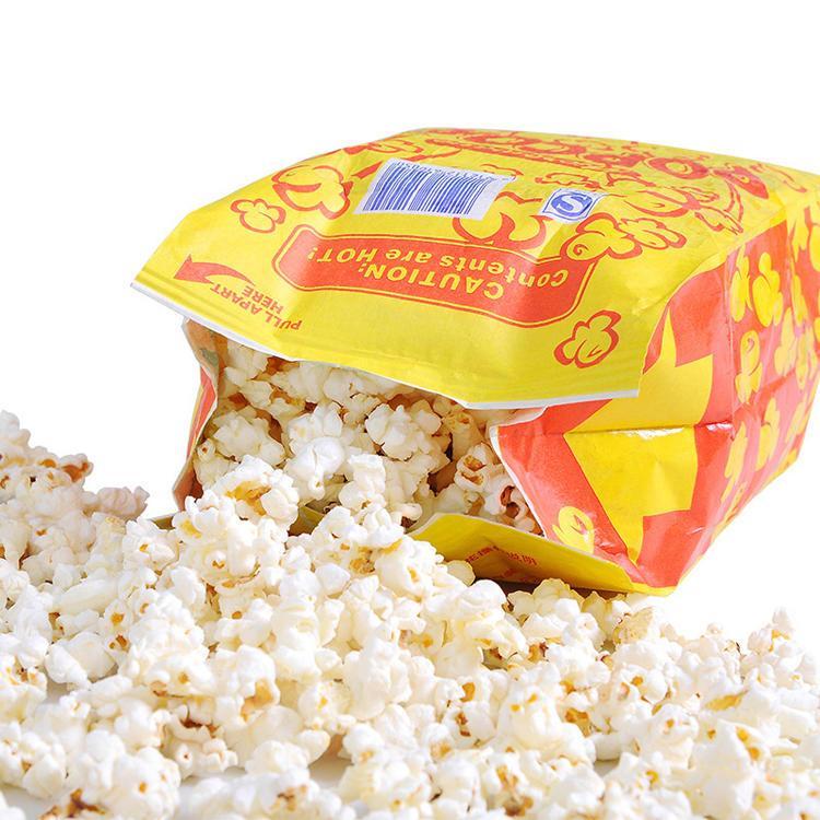 customized greaseproof custom microwave popcorn bag