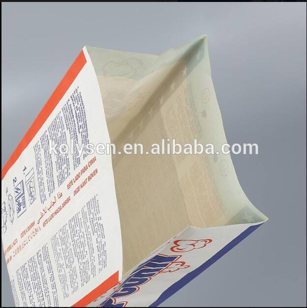 Popcorn Packing Microwave Bag Heat Seal Disposable Coated Paper Food & Beverage Packaging Flexo Printing Accept