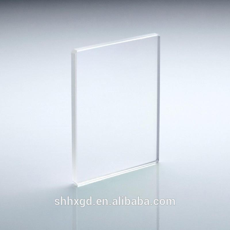 Flat glass lens glasses lens for projector