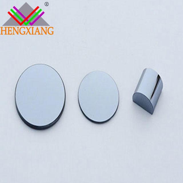 Plano-convex silicon lens convex lens