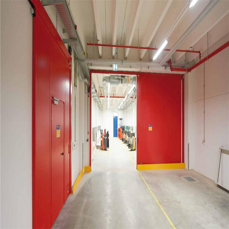 industrial accordion doors cheap industrial sliding doors from China factory