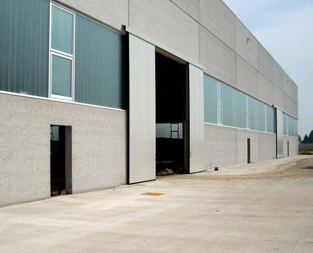 Horizontal Industrial Sliding Door For Factory