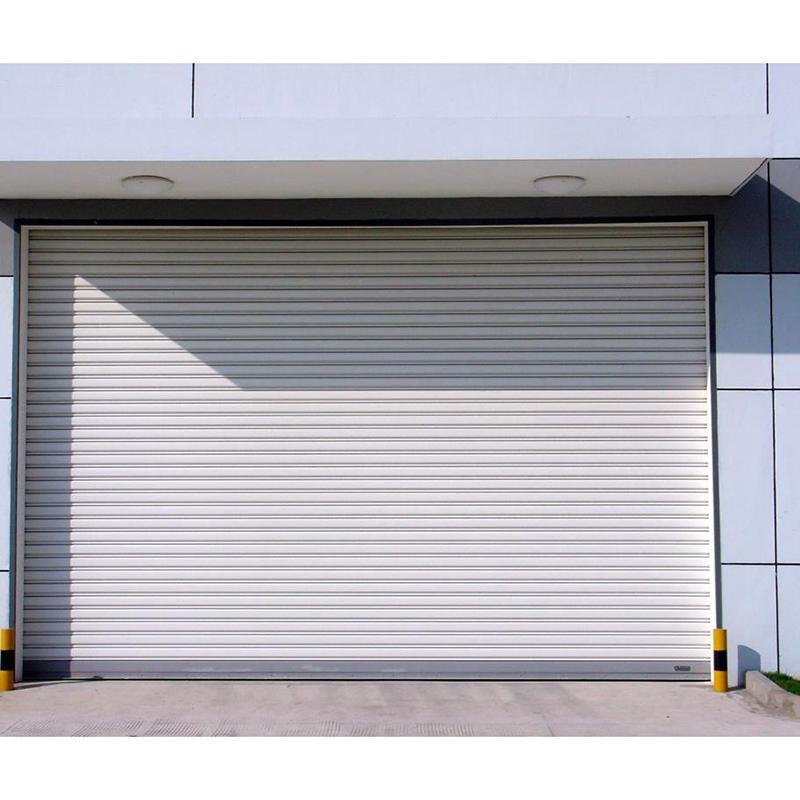 Anti-Typhoon Hurricane Strong Windproof Shutter Door Used in Near the Sea