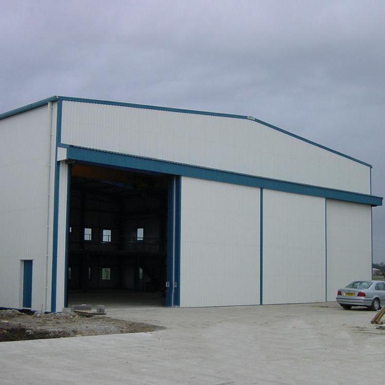 Anti-Hurricane Windproof Industrial Sliding Door for the factory