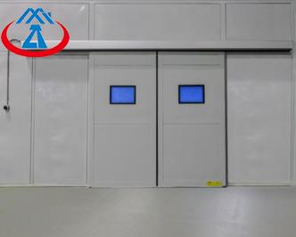 Electric Metal Security DoorIndustrial Sliding Door for Warehouse