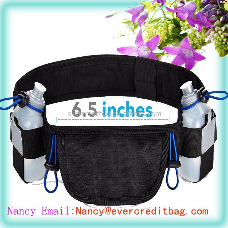 High Quality Hydration Running Belt with Water Bottle