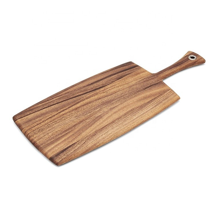 Portable bread pizza cheese wooden cutting board with scale
