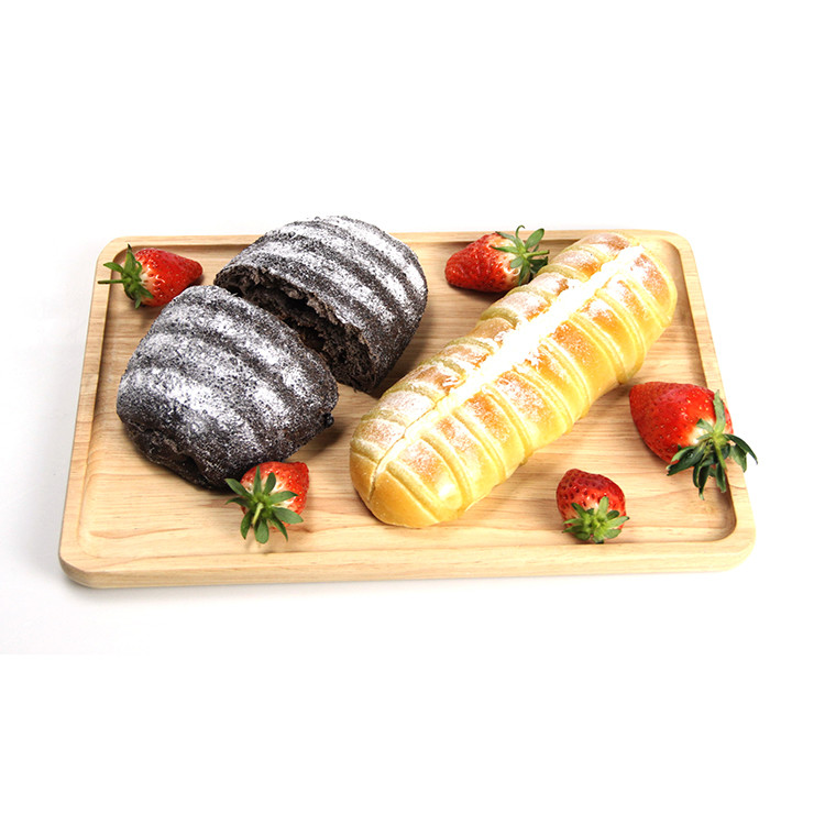 latest hot sale rustic style repeatable use wooden serving tray bread fruit board