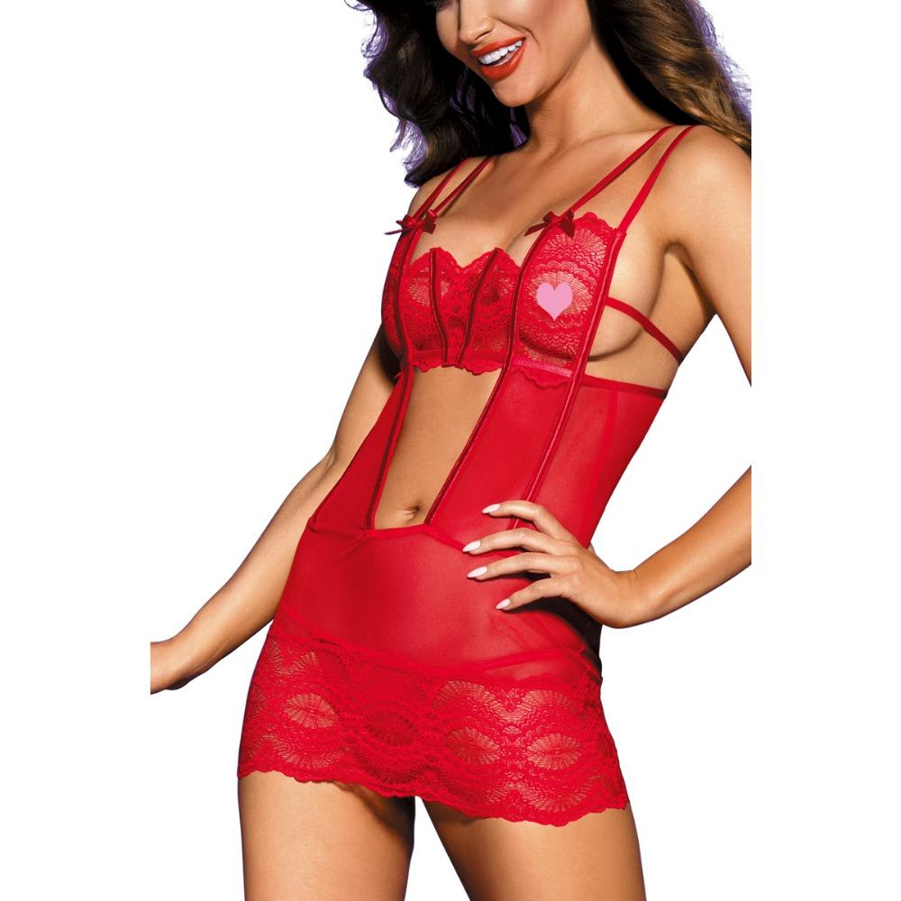 2018 Amazon New design Hot cage dress with eye sexy lingerie sexy babydoll with hook closed